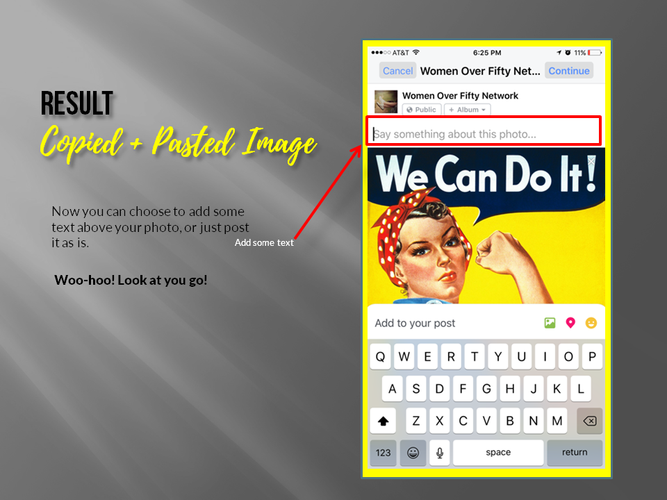How to Copy and Paste on Facebook From Your iPhone or iPad | Women