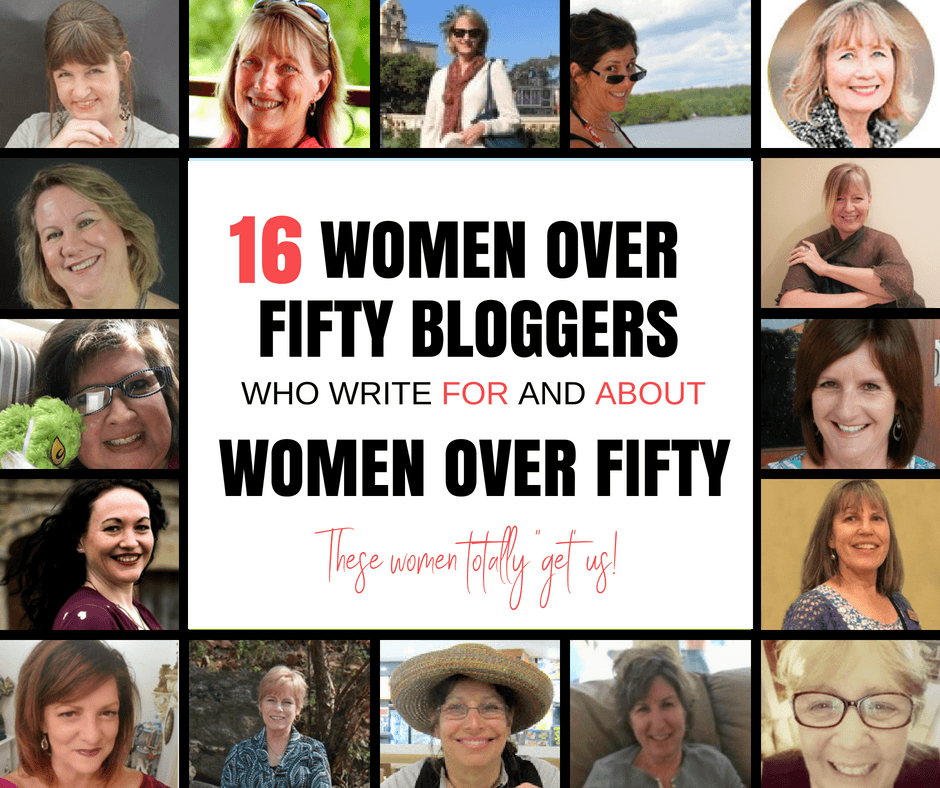 16 women over fifty bloggers