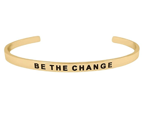 Be The Change Bracelet Women Over Fifty Network
